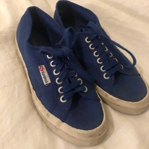 Royal Blue Supergas Sneakers